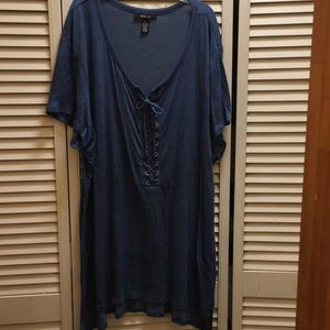 Blue Style&CO. Tunic Top